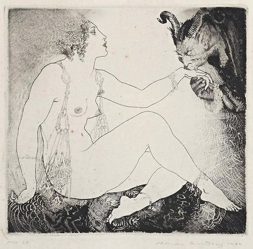"""""""Bargains"""" by Norman Lindsay (picture)"""