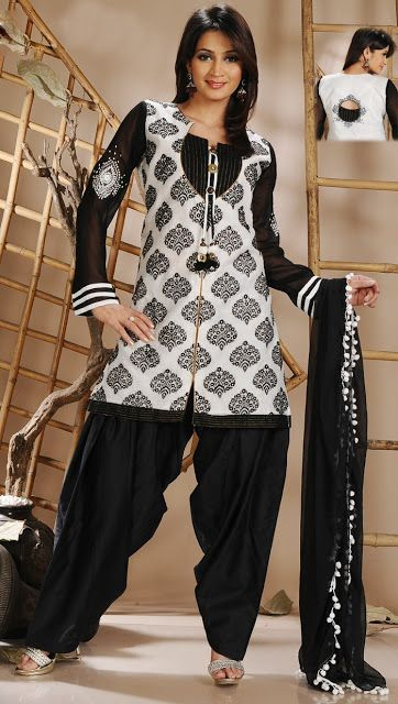 Sparkling Fashion: chudidar neck designs