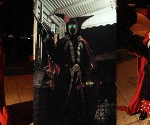 SPAWN costume hand made