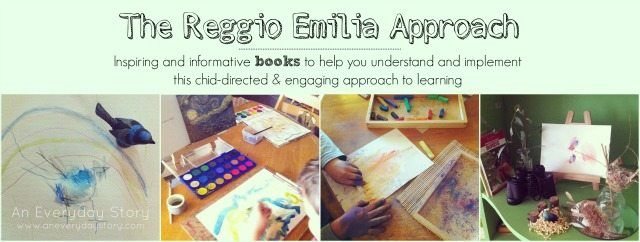 A list of inspiring and useful books about the Reggio Emilia approach.