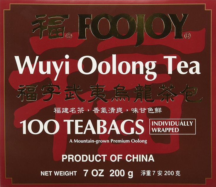 Foojoy Wuyi Mtn. Oolong (Wu Long) Tea 100 Tea Bags, 7 Ounce >>> Click image for more details. (This is an affiliate link and I receive a commission for the sales)