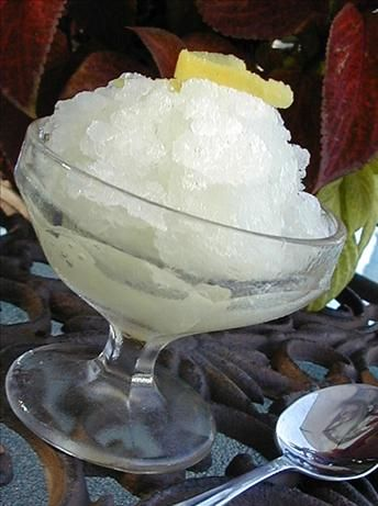 Italian Lemon Ice (Homemade)