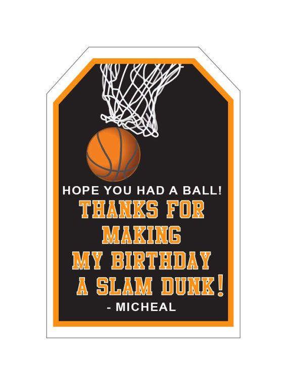 Best 25 Basketball Party Favors Ideas On Pinterest