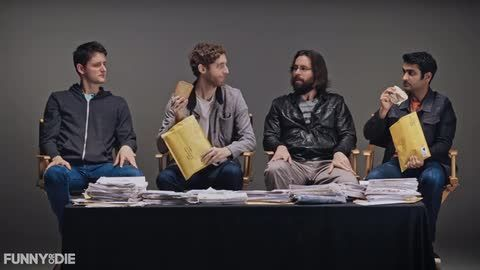 'Silicon Valley'​ stars Thomas Middleditch, Kumail Nanjiani, Martin Starr, and Zach Woods crack open their fan mail and make some disturbing discoveries.