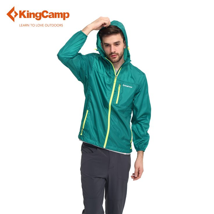 ==> [Free Shipping] Buy Best KingCamp Men's Summer Outdoor Lightweight Easy Carry Wind Rain Jacket Quick Dry Windbreaker Skin Coat Waterproof Soft Raincoat Online with LOWEST Price | 32740543066