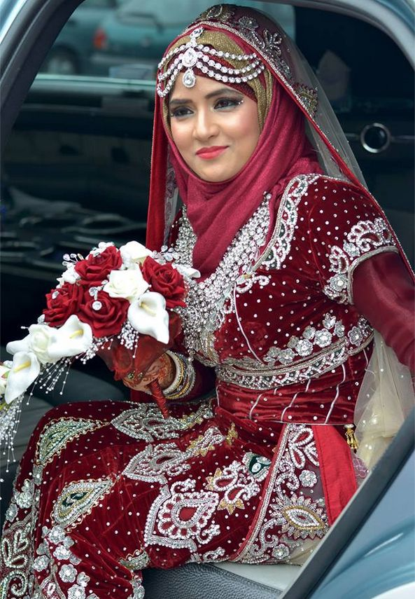 Here comes the Bride #Dulhan #Hijab #Modest