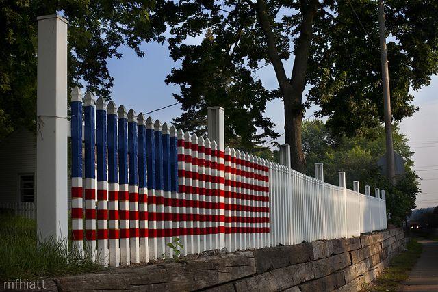 Fence Flag, West Des Moines, IA by Mike Hiatt #Flag_Fence #Iowa