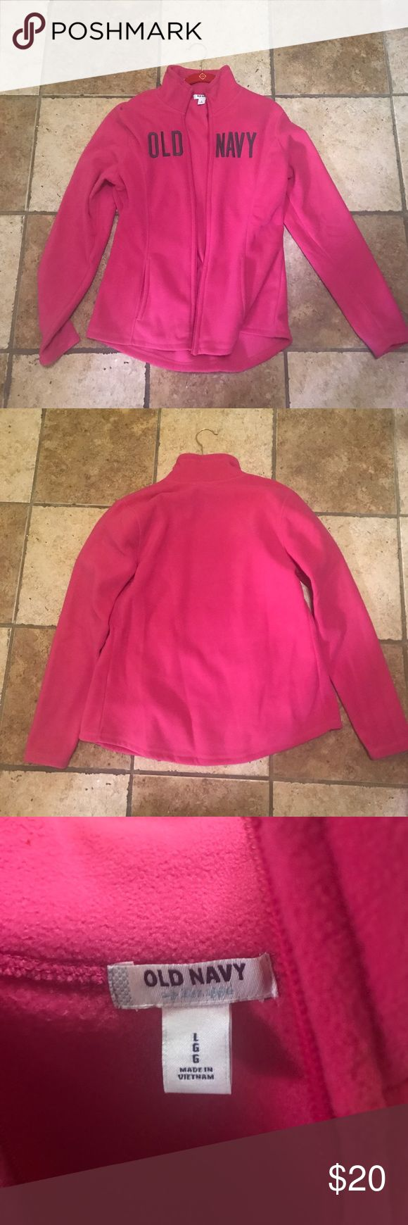 Old Navy Fleece Sweater Never worn. No tags. Super soft & cozy. Great for layering or wearing alone. old navy  Tops Sweatshirts & Hoodies