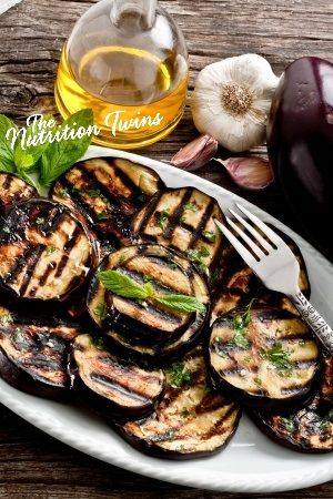 Balsamic Grilled Eggplant | Scrumptious & Only 67 Calories | Incredible Way to Get Veggies without Even Realizing! | Fiber-packed | For MORE RECIPES please SIGN UP for our FREE NEWSLETTER www.NutritionTwins.com