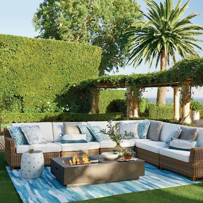 Somerset Modular Seating In 2020 Outdoor Decor Outdoor Garden