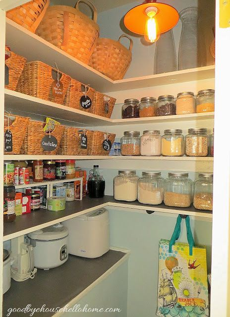 goodbye, house. Hello, Home! Homemaking, Interior Design Blog, Staging, DIY: Our Organized {& Finished} Craftsman Pantry