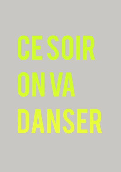 tonight we dance.