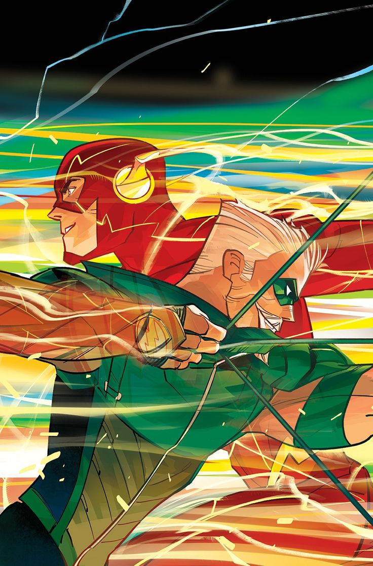 Benjamin Percy Talks Pairing Green Arrow And The Flash