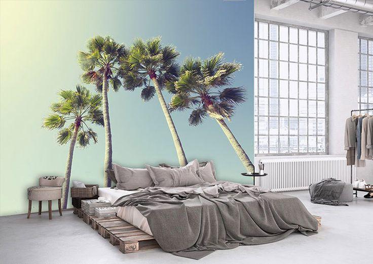 Poster panoramique Sous les palmiers