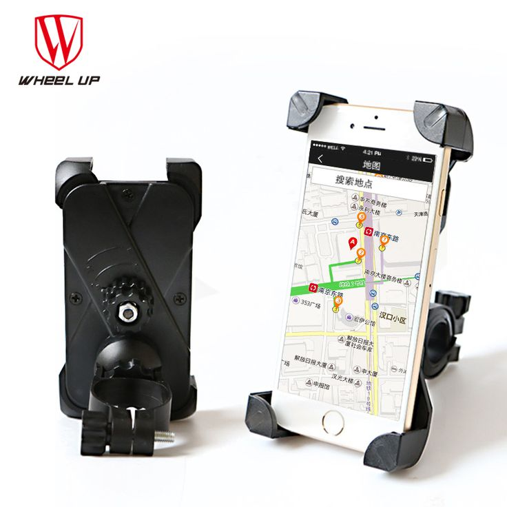 WHEEL UP Bicycle Bike Bag Phone Holder Handlebar Clip Stand Mount Bracket For Cellphone GPS iphone bags free shipping 2017 new