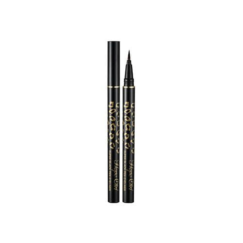 Hope Girl Super Black Pen Eyeliner 0.5g                          Features              Super black color containing carbon black expresses the deep and rich eyes.         Olive, sunflower seed, jojoba seed oil, and panthenol cares the weak eyes.         T