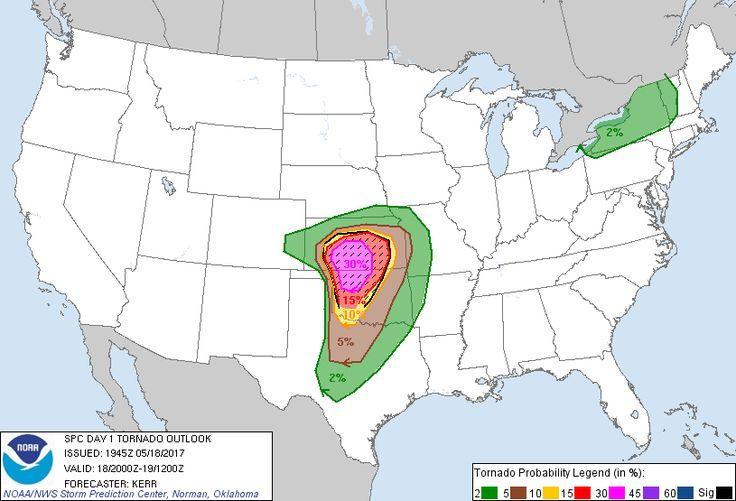 Current Tornado Forecast Severe storms, Forecast, Flood