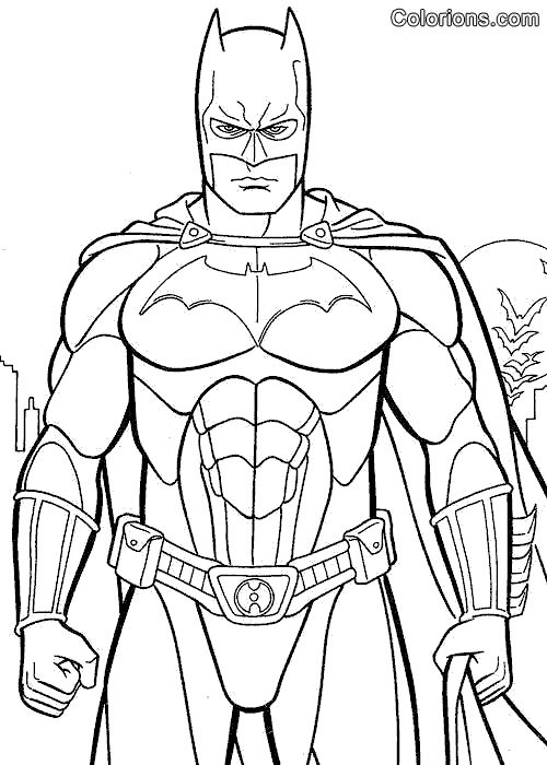Coloriage batman beyond page 3 activit enfant id e d co pinterest heroes batman and - Coloriage batman ...
