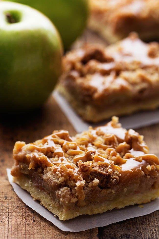Dutch Caramel Apple Pie Bars