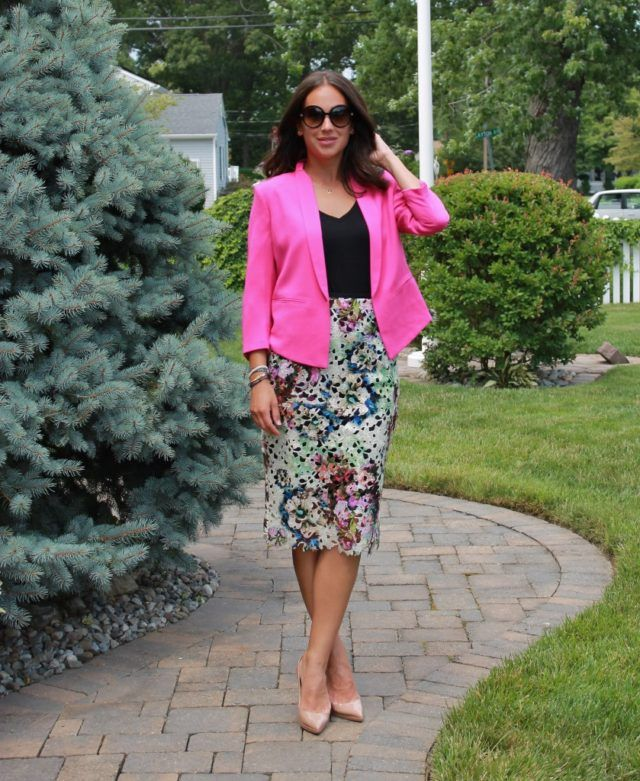 How to Style a HOT Pink Blazer | TSF
