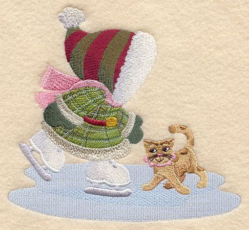 Winter Bonnet Baby Machine Embroidery Designs