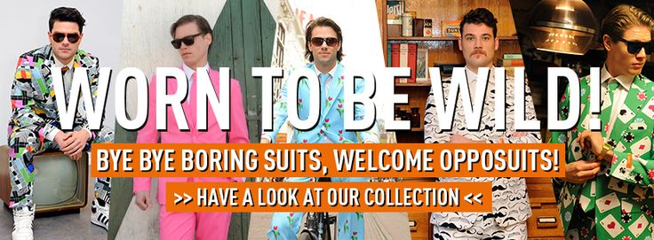 Outrageous suits ideal for fancy dress occasions! Free delivery. High quality. - OppoSuits