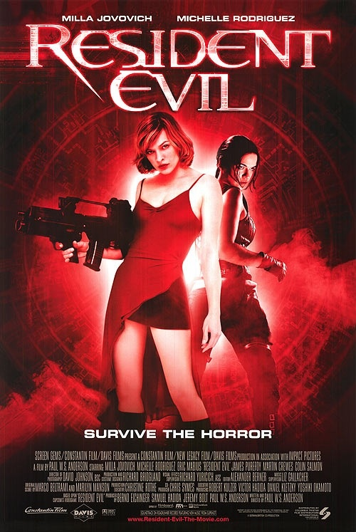 Resident evil movie site