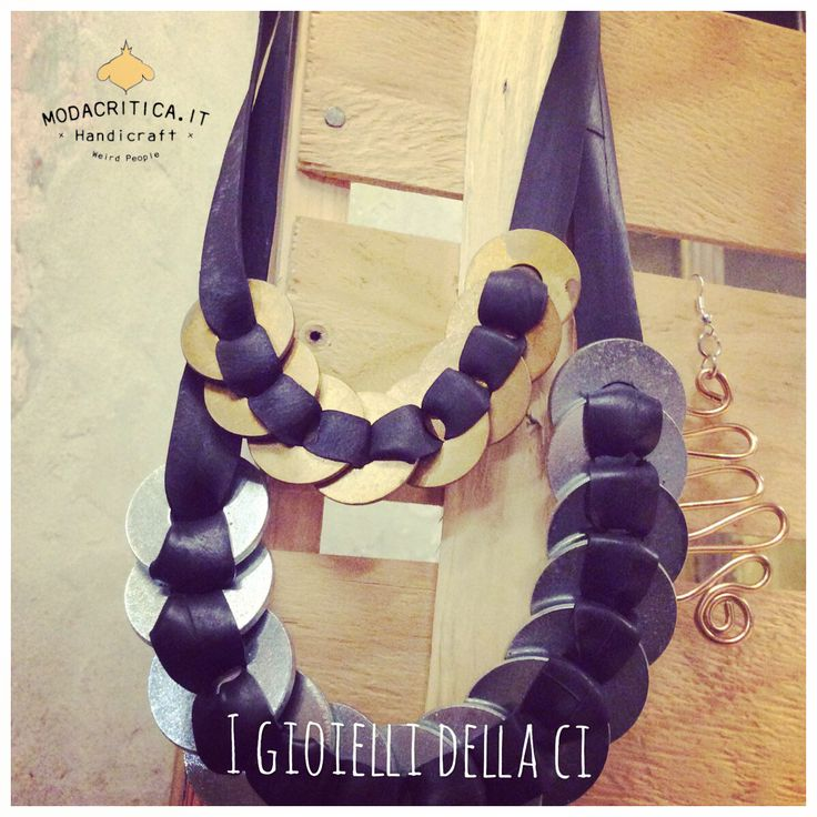 Handmade jewellery. #modacritica #handmade #madeinitaly #carrousel #milan #recycle #upcycling Pictures and stories on Modacritica.it  Follow us on FB: Modacritica