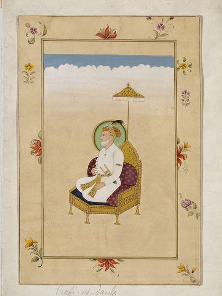 Shah Alam Bahadur Shah I (1707-1712), the 7th Mughal Emperor.