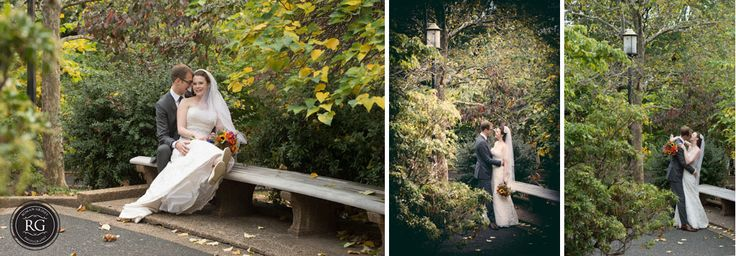 wedding portraits at Josephine Butler Parks Center