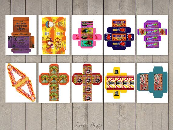 Harry Potter Printables Pack - Favor Boxes, Labels, Book covers, Quibbler and Daily Prophet Front Pages - Digital File