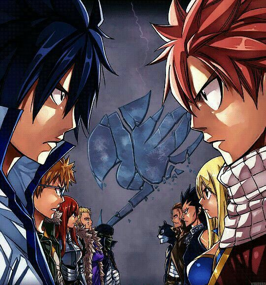 Oh shoot idk who to choose....i would probably be on grays team bc erza and jellal..not sorry about that decision