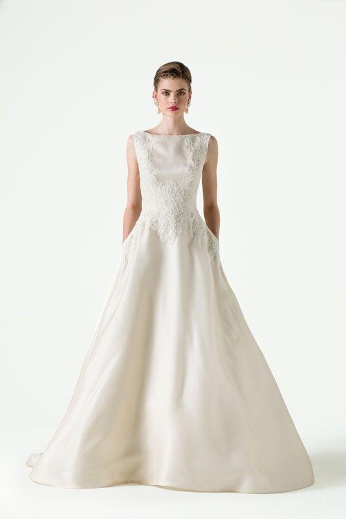 145 best lange Brautkleider images on Pinterest   Wedding frocks ...