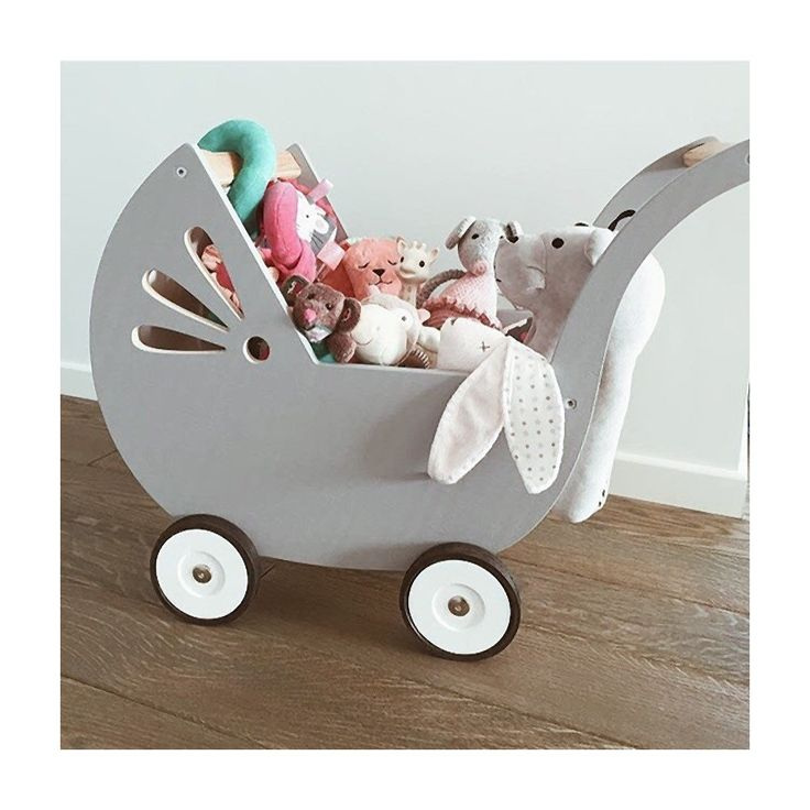 factoryforkids Wooden doll pram     https://factoryforkids.com/en/home/1118-wooden-doll-pram.html  Classic shape, a great decoration for every child's room. Solid and light, made of water resistant birch plywood Doll pram is available in 3 colour versions: white, white-pink or white-grey. Product suitable for children over 18 months.  #woodentoys #wooden #toys #factoryforkids #f4k #baby #kids #babyroom