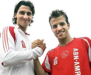 A young Zlatan! At Ajax.