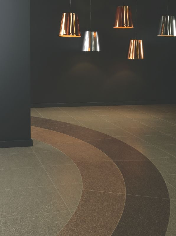 Fragment Astro Comet Meteor Bespoke Curve By Amtico Flooring At Bell Of Northampton