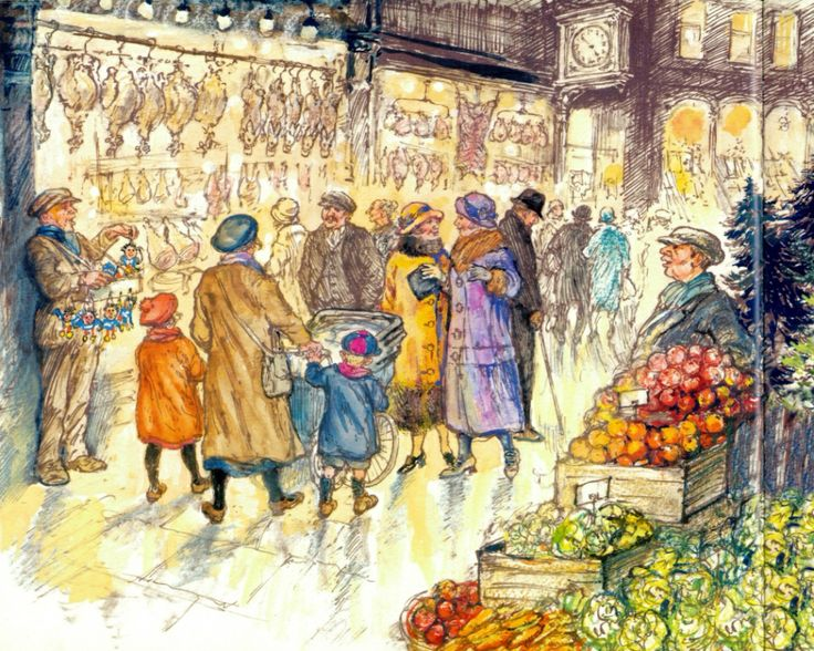 December 4th – The Christmas Eve Ghost by Shirley Hughes | tygertale