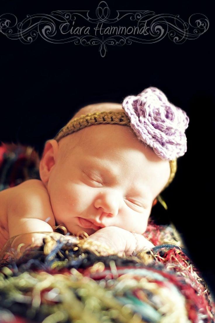 Craftaholics Anonymous® | RTW: Crocheted Flower Headband TUTORIAL