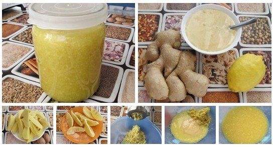 Zázvor s citrónom a s medom