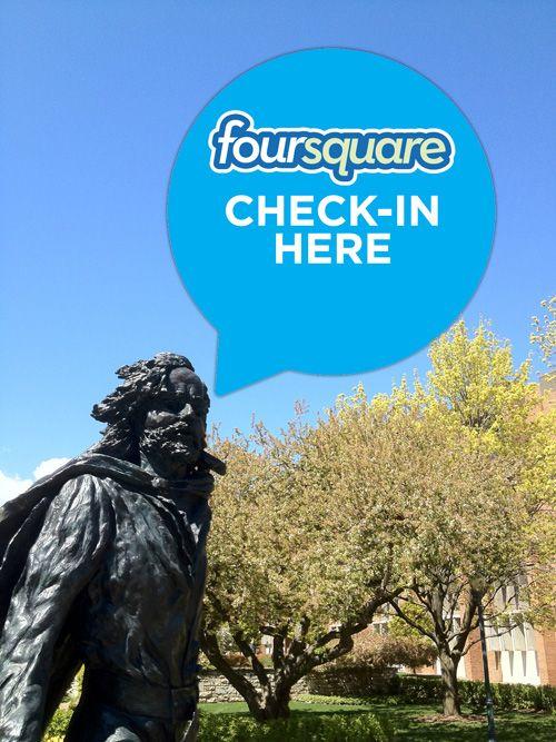 Happy foursquare day (4/16)!
