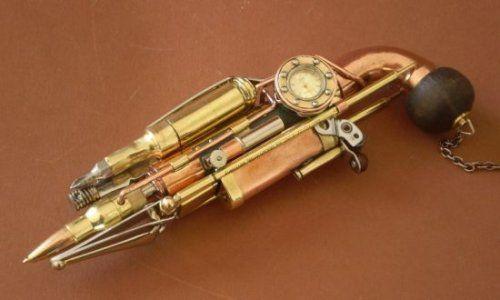 The Swiss Army Knife of Steampunk guns