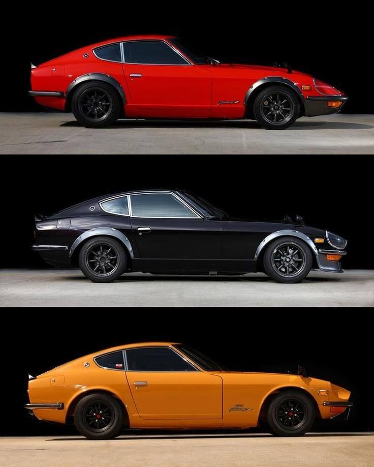 I love the original 240 & 260 Datsun Z's