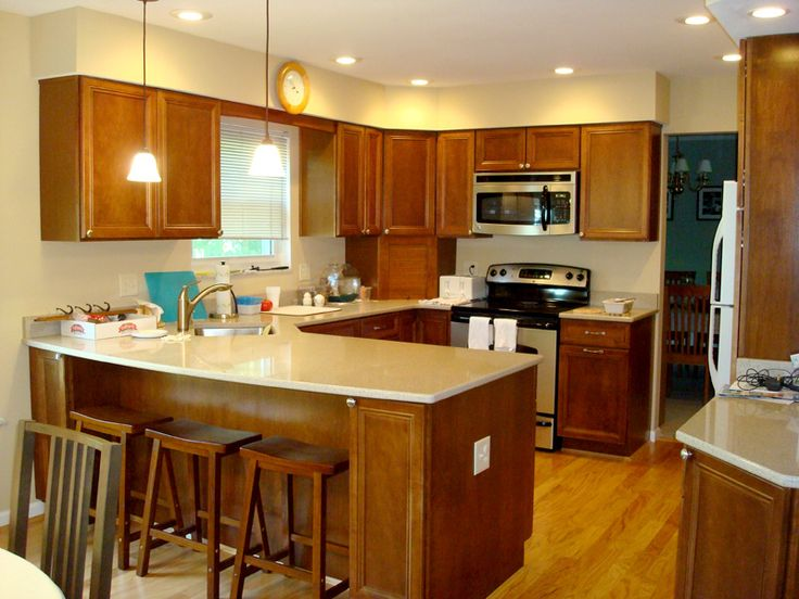 Kitchens With Penninsulas Kitchen With Peninsula For