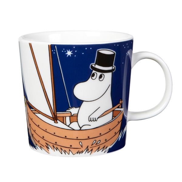 The new Moominpappa Moomin mug.