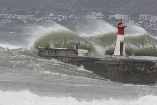 Kalk Bay in Wild weather!   Walking Cape Town – The Easy Fish Hoek To Muizenberg Route