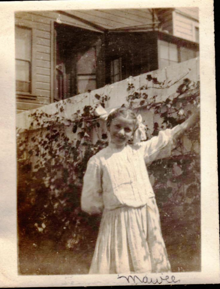 """My grandmother, Louise """"Mawee"""" was born in 1894 to Frank and Anna Pellegrini."""