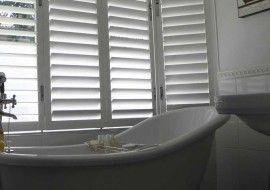 Aluminium Shutters Window Bathroom