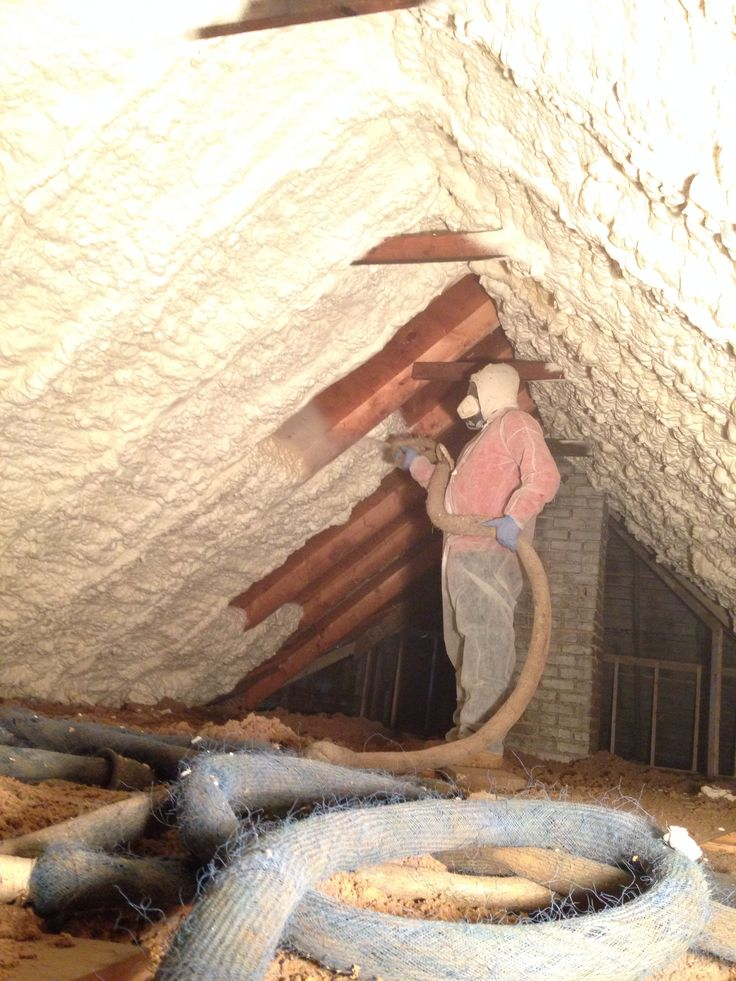 Mpi Foam Installing Spray Foam Insulation In Attic To Keep