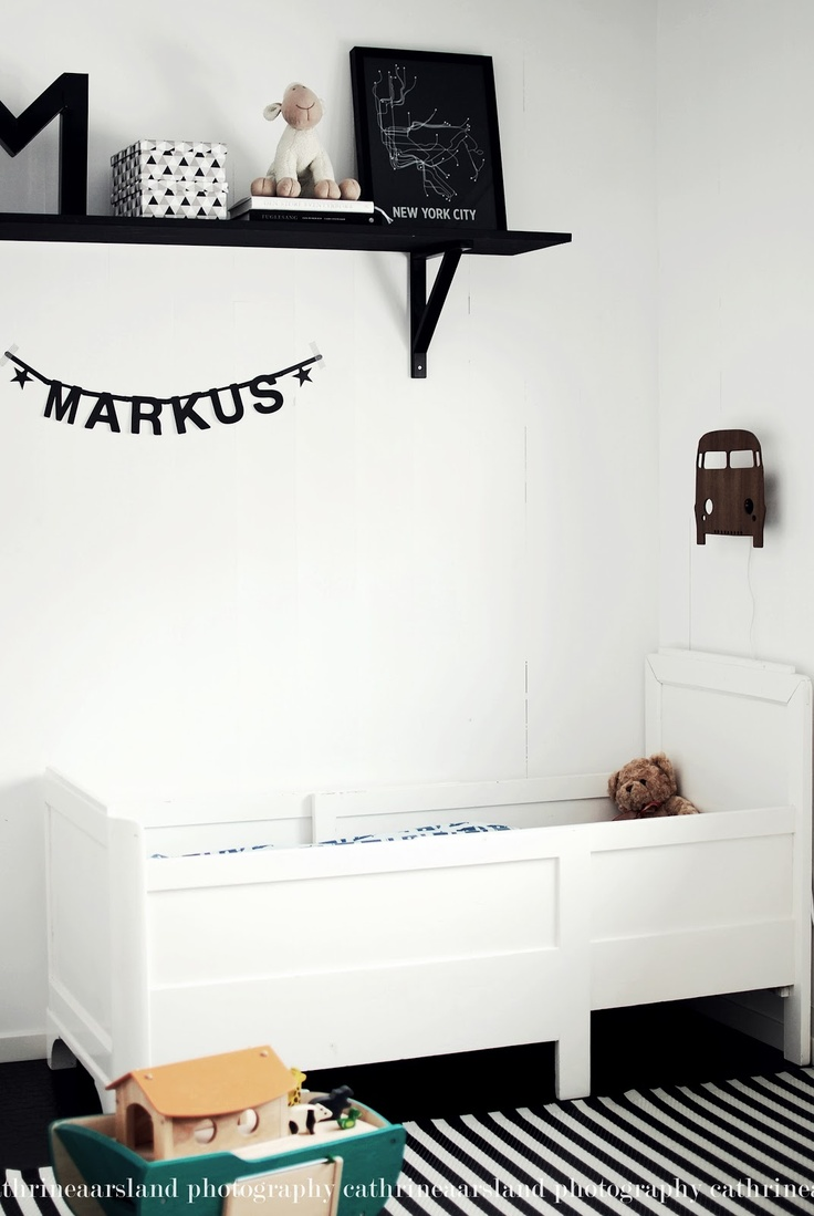 Kinderkamer zwart en wit | Kidsroom black and white #kids