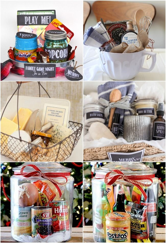 22 Diy Gift Basket Ideas For Everyone Diy Gift Baskets Gift
